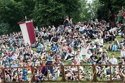 Volles Programm im Wäldchen - Mittelalterlich: Impressionen vom Samstag beim Spectaculum Worms 2018