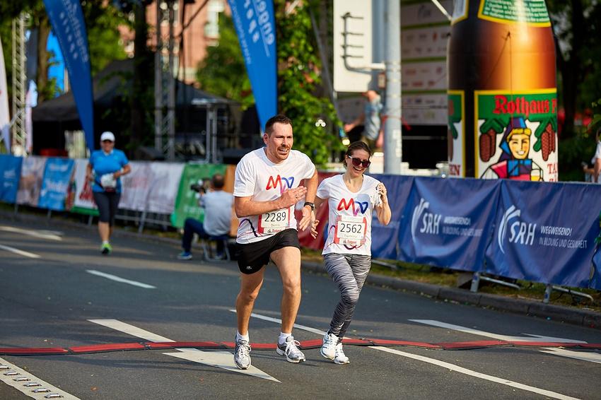 Impressionen vom SRH Dämmer Marathon in Mannheim (2018)