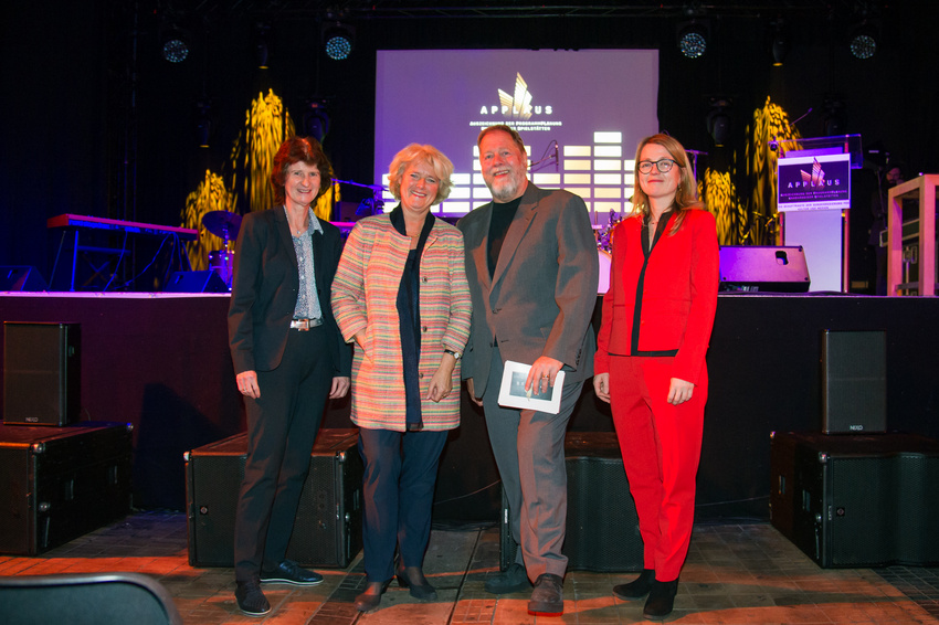 Die Bewerbungsphase für den Spielstättenpreis APPLAUS 2018 ist gestartet