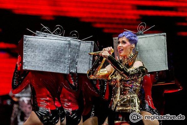 Auf allen Ebenen - Spektakulär: Live-Fotos von Katy Perry in der Lanxess Arena in Köln