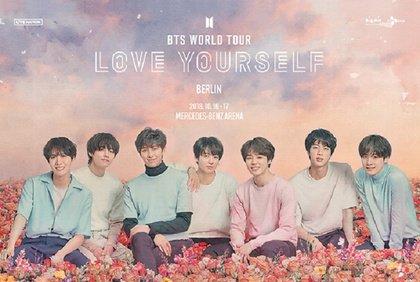 Love Yourself - K-Pop-Sensation BTS im Oktober 2018 mit Doppelshow in Berlin