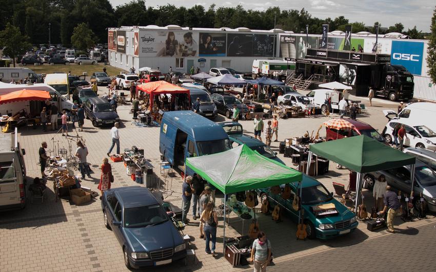 session lädt am 16. Juni 2018 zum Musikerflohmarkt in Walldorf ein