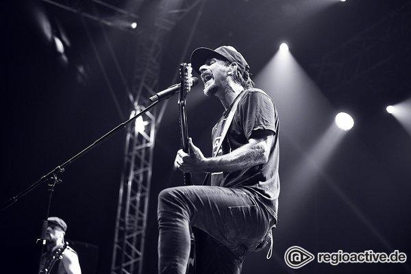 Auftakt - Rockig: Bilder von Wirtz live beim Zeltfestival Rhein-Neckar in Mannheim