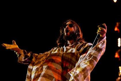 Riesenparty - Thirty Seconds To Mars: Bilder der Jared Leto-Show live bei Rock am Ring 2018