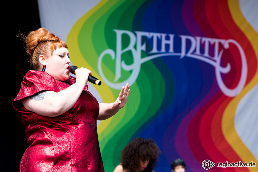 Beth Ditto (live bei Rock am Ring, 2018)