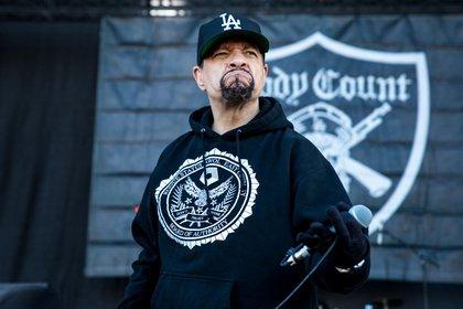 Fäuste hoch! - Da Crew: Fotos von Body Count feat. Ice-T live bei Rock am Ring 2018