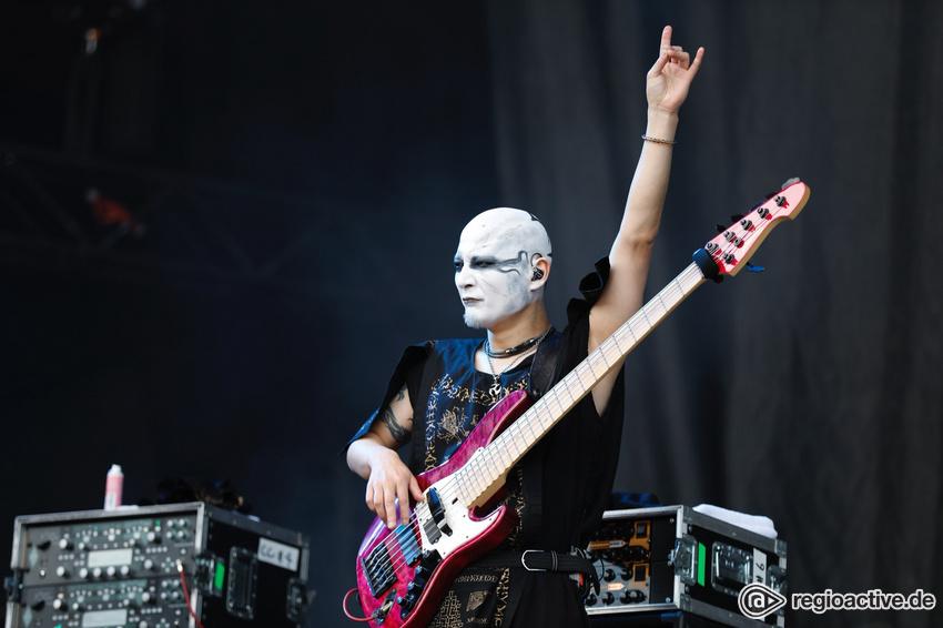 Babymetal (live bei Rock im Park, 2018)
