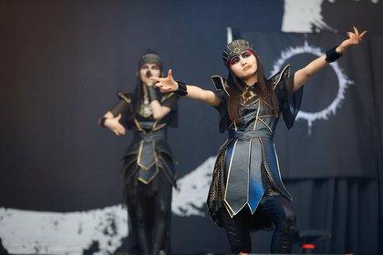 Manga meets J-Pop und Metal - Mystisch: Live-Bilder von Babymetal bei Rock im Park 2018