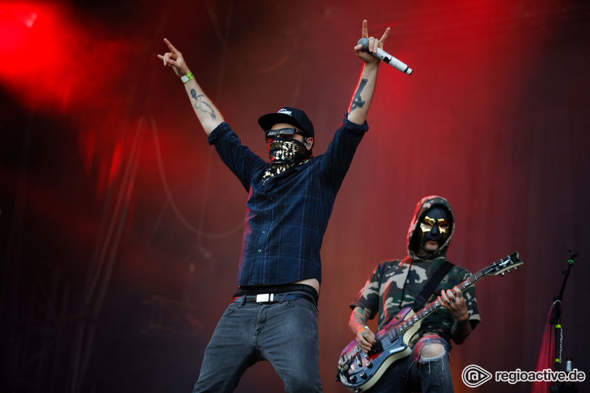 Hollywood Undead (live bei Rock im Park, 2018)