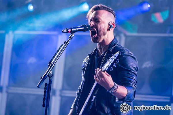 Voller Energie - Britische Härte: Fotos von Bullet For My Valentine live bei Rock am Ring 2018