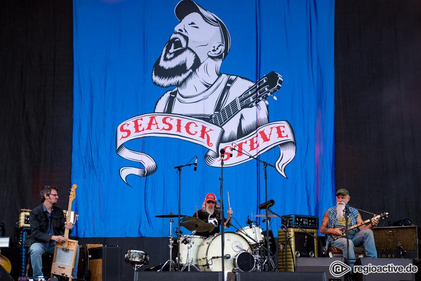 Seasick Steve (live bei Rock am Ring, 2018)