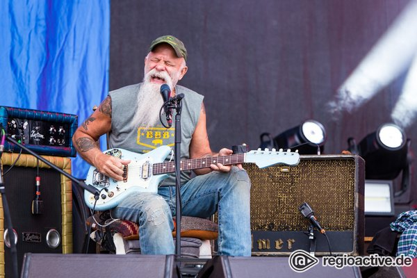 Den Blues im Blut - Authentisch: Bilder von Seasick Steve live bei Rock am Ring 2018