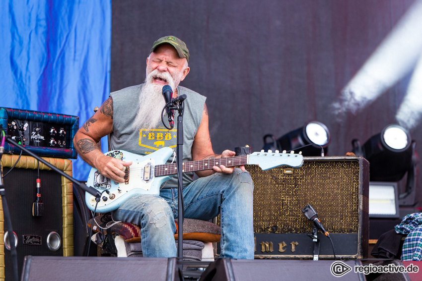 Seasick Steve (live bei Rock am Ring, 2018)