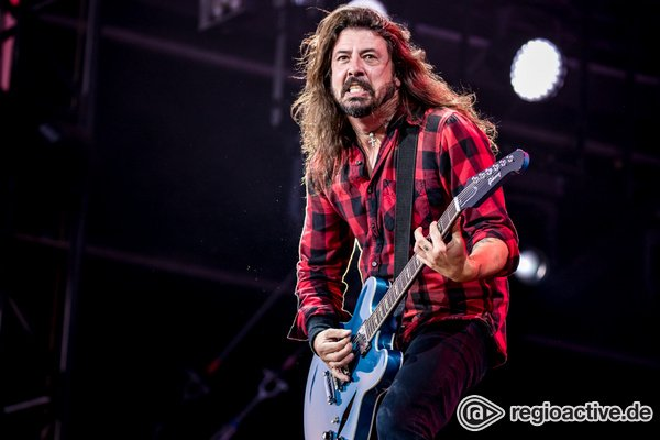Rustikal - Gewaltig: Live-Fotos der Foo Fighters bei Rock am Ring 2018