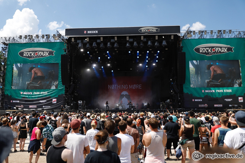 Impressionen vom Samstag und Sonntag bei Rock im Park 2018