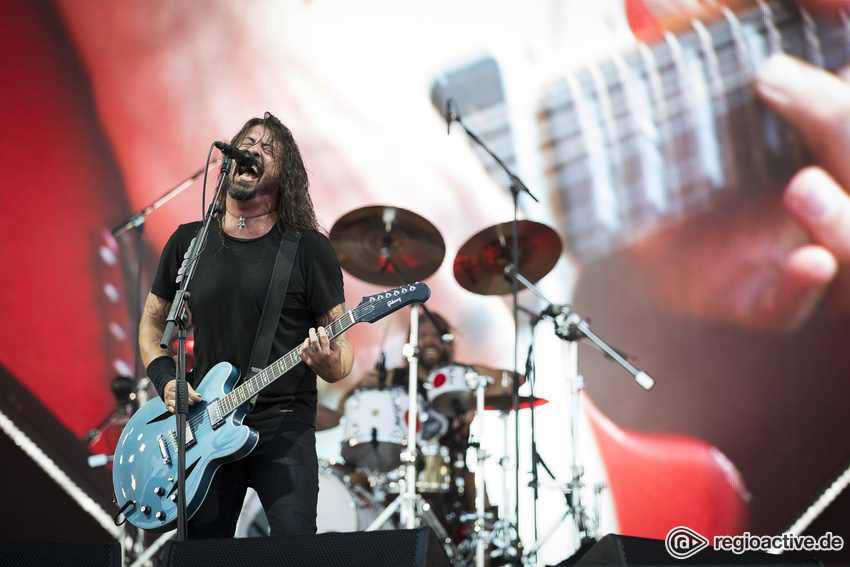 Foo Fighters (live bei Rock im Park, 2018)
