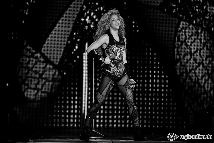 Shakira, am 05.06.2018 in Köln