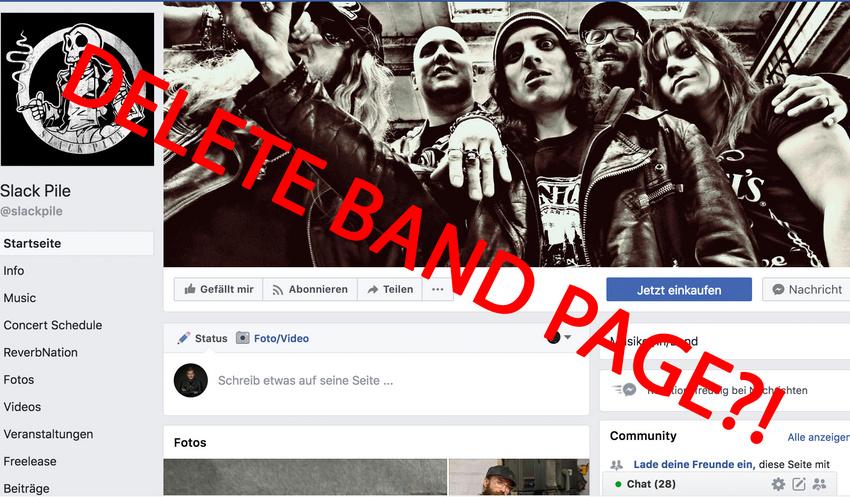 Das Aus für eure Facebook-Bandpage? Seitenbetreiber laut EuGH-Urteil mitverantwortlich für Datenschutz