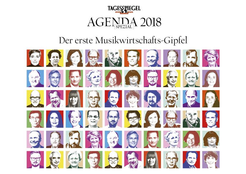 """Musikwirtschafts-Gipfel """"Agenda Spezial"""": Sprecher und Programm stehen fest"""