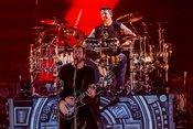 Geradlinig: Live-Bilder von Nickelback in der Frankfurt Festhalle