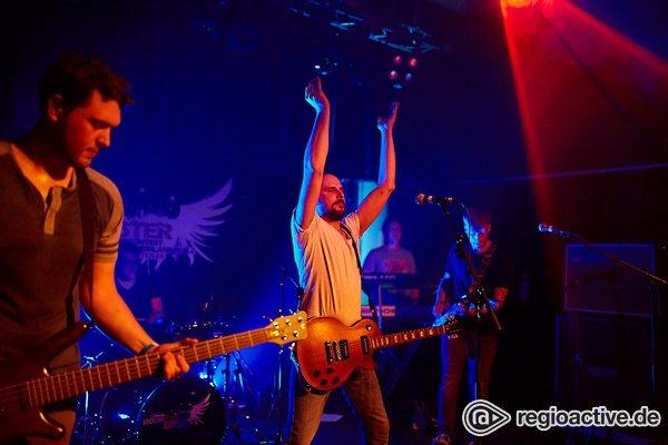 In die Zwischenrunde - Viel Bock: Fotos von LammBock live bei der Rockbuster Vorrunde 2018 in Ludwigshafen