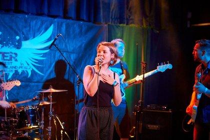 Blues-Rock aus Mainz - Bilder von Nocona Heat live bei der Rockbuster Vorrunde 2018 in Ludwigshafen