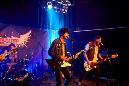 Deutschrock aus Kaiserslautern - Die ticken richtig: Bilder von Uhrwerk live bei der Rockbuster Vorrunde 2018 in Ludwigshafen