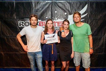 Schöne Harmonien, heiße Gitarrenmoves und viel Rock - Lluvia gewinnen die Rockbuster Vorrunde 2018 in Ludwigshafen