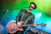 Ledrig: Black Rebel Motorcycle Club live auf dem Maifeld Derby 2018