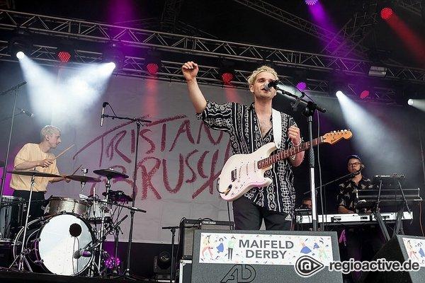 Frühaufsteher - Tristan Brusch: Live-Bilder seines Auftritts beim Maifeld Derby 2018