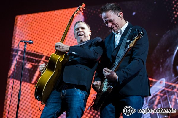Geradlinig - Bryan Adams sorgt in der Mannheimer SAP Arena für gute Laune