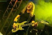 Fotos von Megadeth live als Opener von Judas Priest beim Zeltfestival Rhein-Neckar