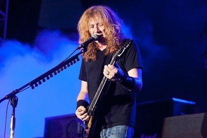 Gute Besserung - Megadeth: Dave Mustaine an Kehlkopfkrebs erkrankt