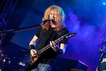 Hoffentlich wieder gesund - Hat Megadeth-Frontmann Dave Mustaine den Krebs besiegt?