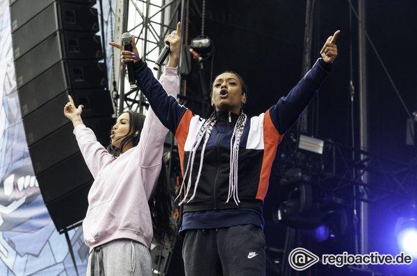 Vorne dabei - SXTN: Live-Bilder des Rap-Duos beim Hurricane Festival 2018
