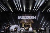 Nordlichter: Fotos von Madsen live auf dem Hurricane Festival 2018