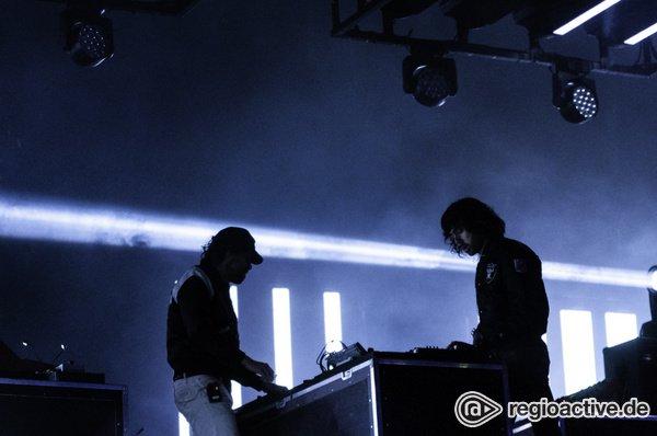 Aus der Zukunft - Disco: Fotos von Justice live auf dem Hurricane Festival 2018