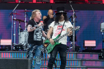 Die Hoffnung steigt - Slash: Es entsteht bereits Material für ein neues Guns N' Roses-Album