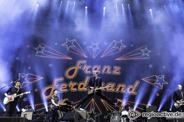 Einfach gut - Entspannte Party: Fotos von Franz Ferdinand live beim Hurricane Festival 2018
