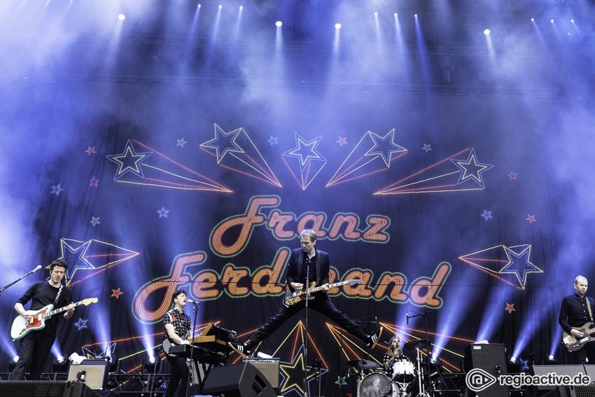 Franz Ferdinand (live beim Hurricane Festival, 2018)
