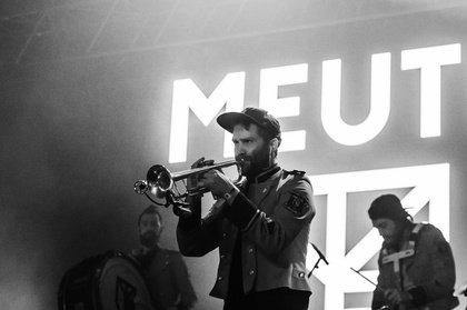 Blasen die Beats raus - Techno unplugged: Fotos von Meute live beim Hurricane Festival 2018