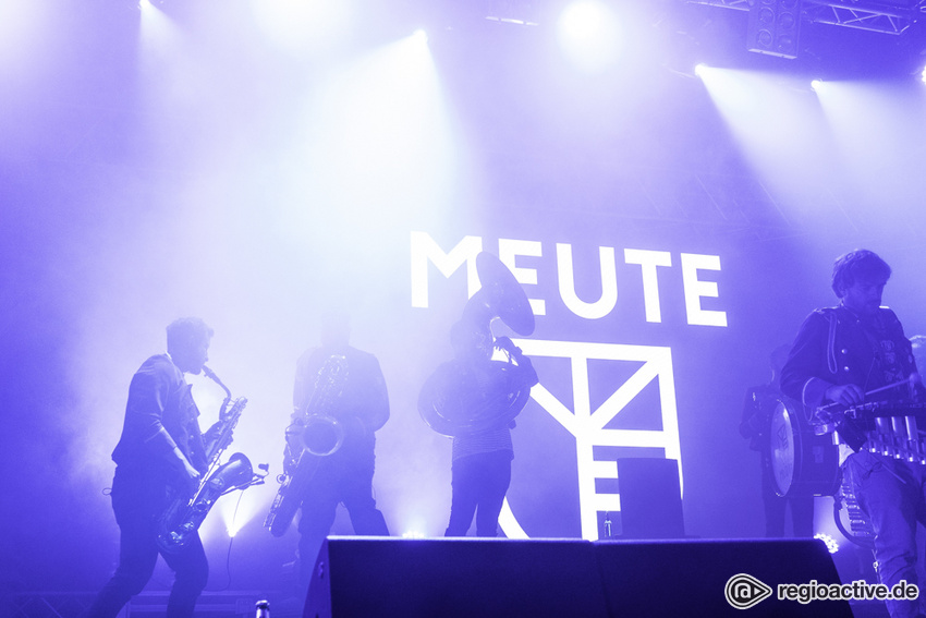 Meute (live beim Hurricane Festival, 2018)