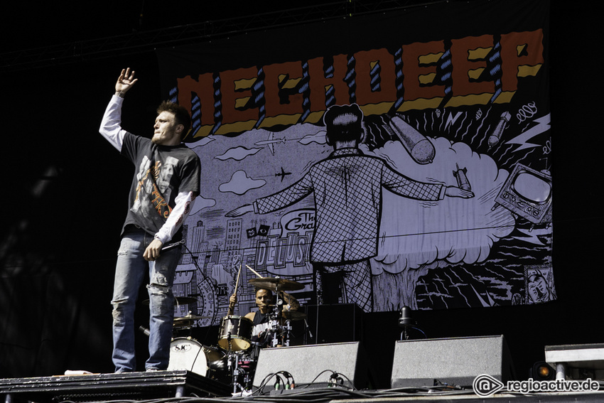 Neck Deep (live beim Hurricane Festival, 2018)