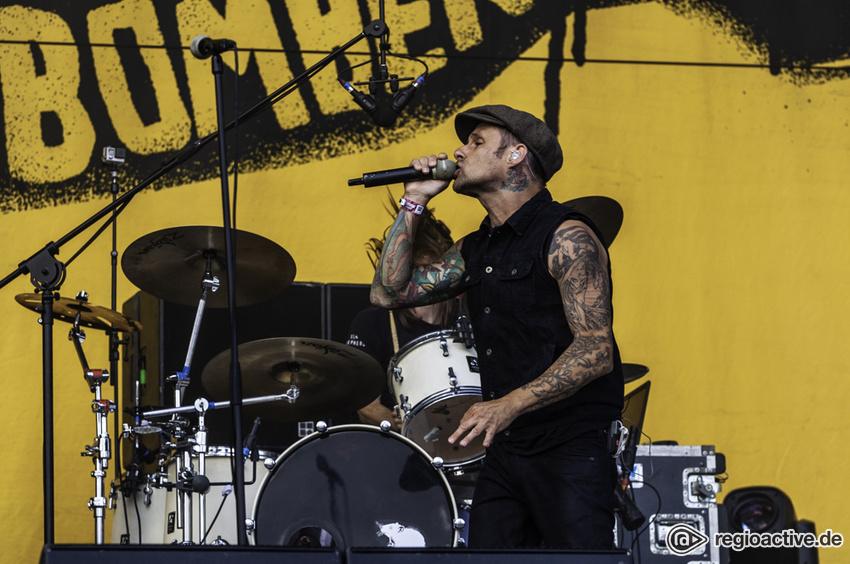 Donots (live beim Hurricane Festival, 2018)