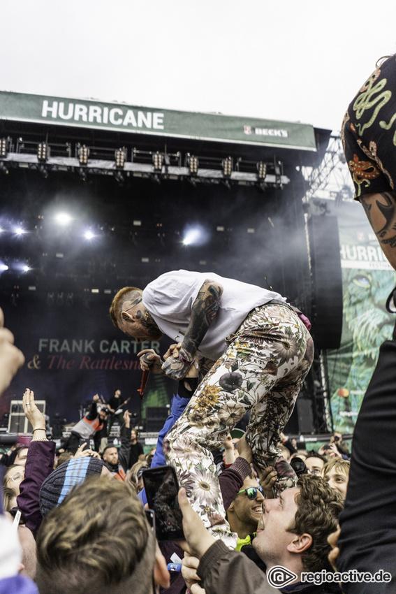 Frank Carter & the Rattlesnakes (live beim Hurricane Festival, 2018)