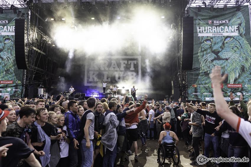Kraftklub (live beim Hurricane Festival, 2018)