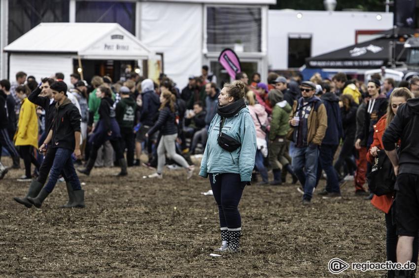 Impressionen vom Sonntag beim Hurricane Festival, 2018)
