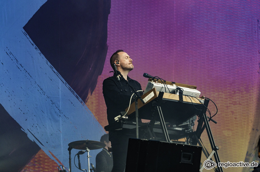 Chvrches (live beim Hurricane Festival, 2018)