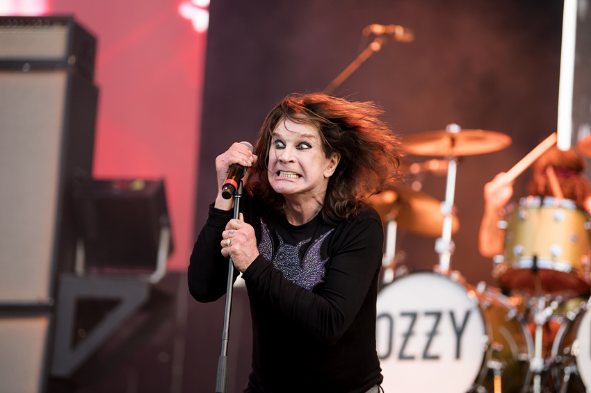 Ein letztes Mal - Ozzy Osbourne zieht zum Abschied in Oberhausen noch einmal alle Register