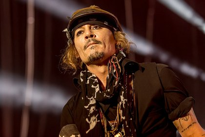 Staraufgebot - Mit Johnny Depp: Bilder der Hollywood Vampires live in Frankfurt